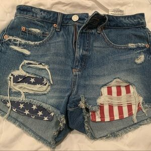 Baby Jean Shorts Castle Rose Boutique Distressed Denim Kids Shorts Ripped Jean Shorts for Girls